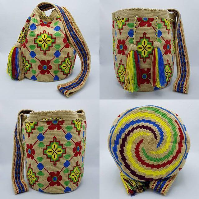 ❤️ Wayuu bag Single thread size L รุ่นด้ายเดี่ยว ไซส์ L เส้นผ่าศูนย์กลางก้นกระเป๋า 23 ซม. ความสูงกระเป๋า 29 ซม. ความยาวสาย 103 ซม. Price 4,000 Free ems Line ; wela.dd (WA +66922265597) #wayuu #wayuubag #วายู #กระเป๋าวายู #กระเป๋าwayuu #กระเป๋าวายูพร้อมส่ง #กระเป๋าวายูแท้แฮนด์เมดนำเข้าจากโคลอมเบีย #กระเป๋าถักมือ #colombianbag #wayuumocila #mochila #mochilabag #wayuustyle #wayuutribe #wayuuworld #wayuulover #wayuuthailand #wayuubangkok #wayuubkk #...