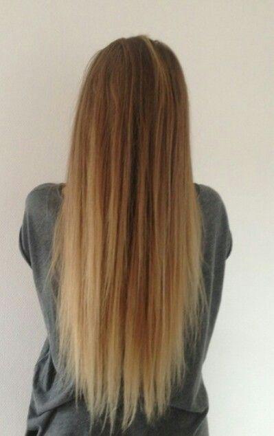 Long hair stijle haren stijl haar straight hair