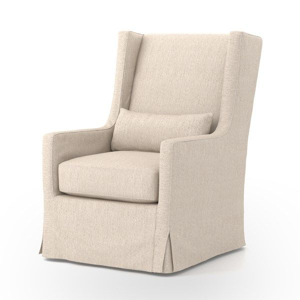 Four Hands Swivel Wing Chair In Jette Linen. Canu0027t Find The Four Hands  Product Youu0027re Looking For?