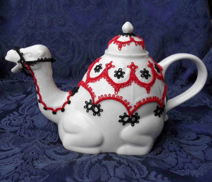 My Tatted Tea Pots - inspiration gallery