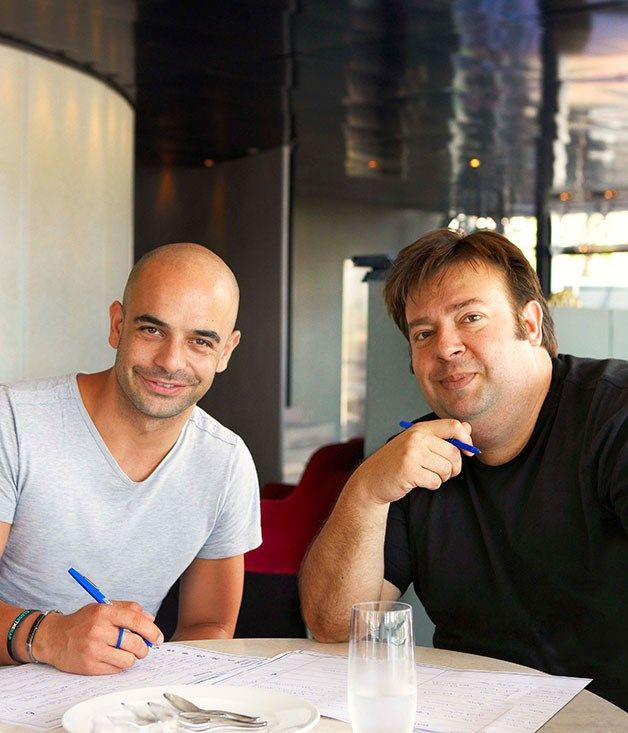 Australian Gourmet Traveller food feature on a gourmet  ice-cream rating with Adriano Zumbo and Peter Gilmore as judges. #icecream