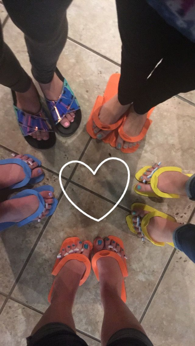 Pedicure party!!!!!! This was so much fun!!!