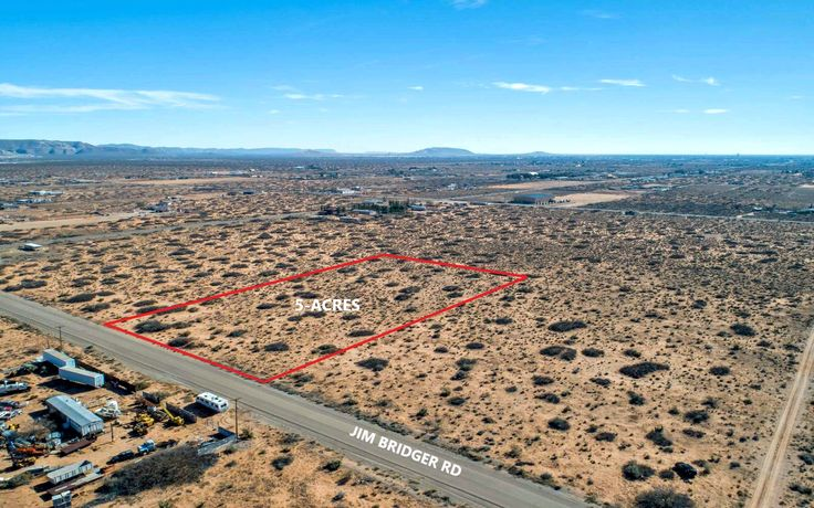 El paso texas 76983 5 acres 5 lots in star bright