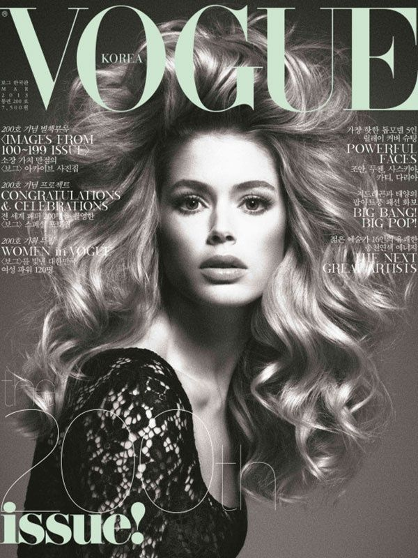 Vogue Korea March 2013 Doutzen Kroes