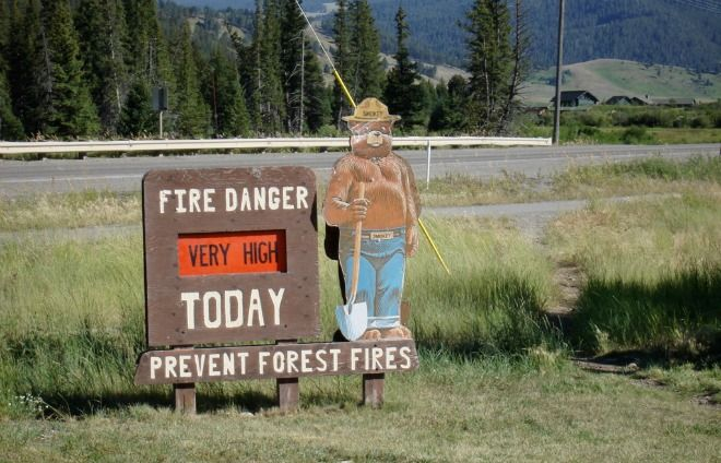Smokey Can't Save Us: Wildfires Are Out of Control