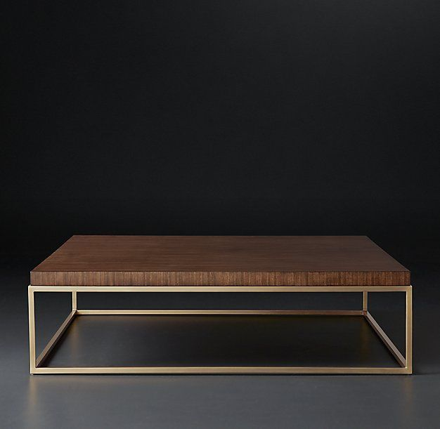 Nicholas Square Coffee Table: Finish: Grey & Stainless Steel (not as in image)