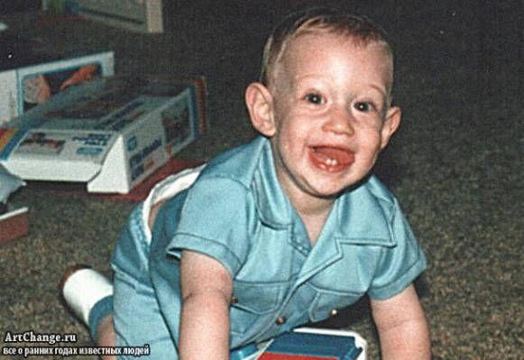 Марк Цукерберг в раннем детстве