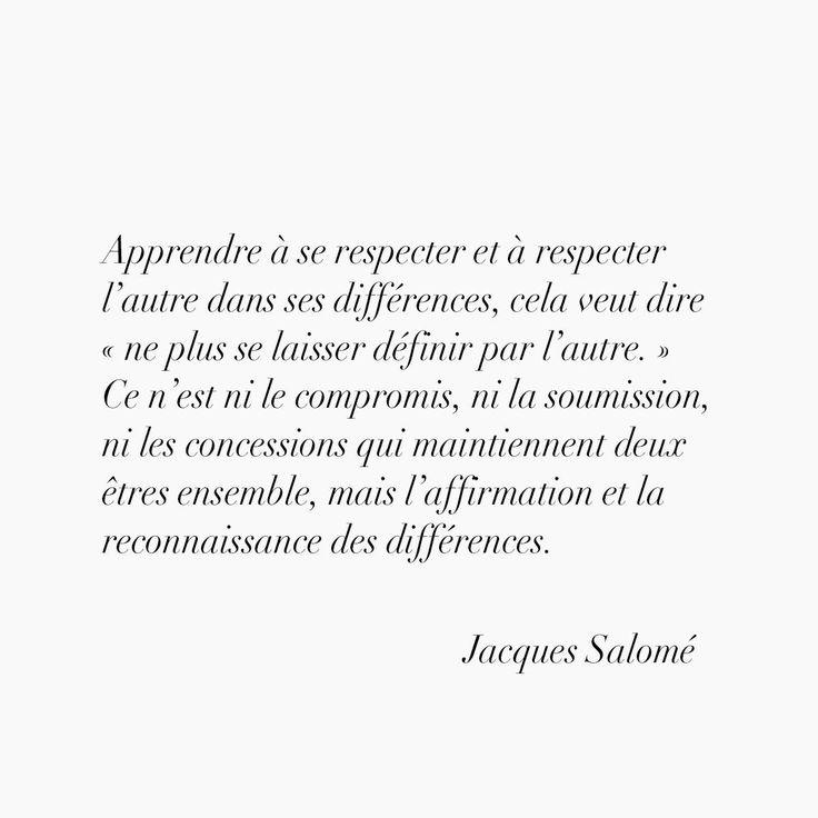 Jacques Salomé...