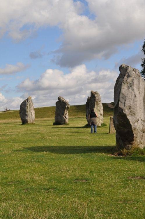 Stone circle, Avebury, Wiltshire, UK