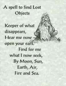 Find those lost objects