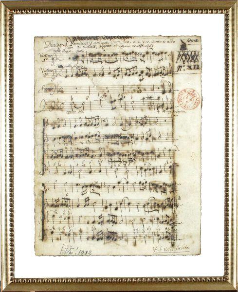14096 - Latin Sheet Music - Title
