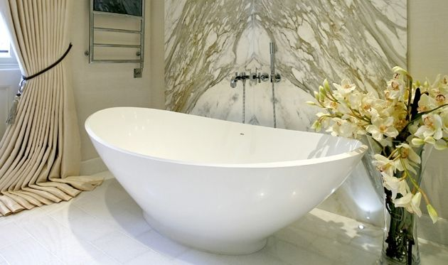BC Designs - the KURV solid-surface bath is a combination of trend setting design and technical achievement. The minimalist KURV bath is both comfortable and stylish to enhance any bathroom.