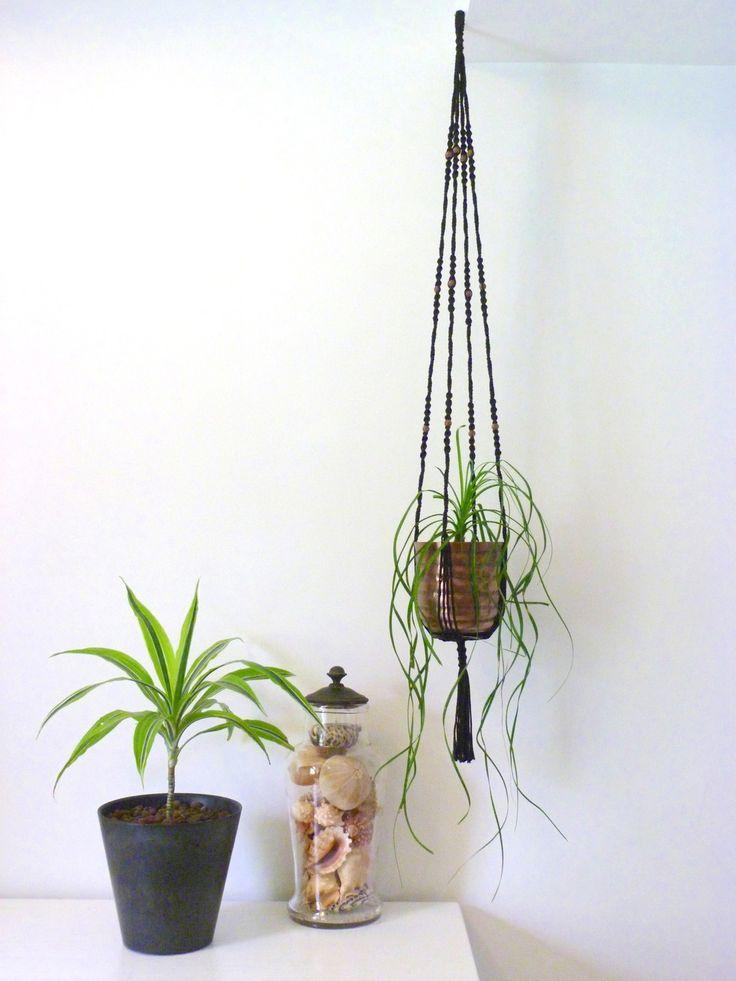 Suspension pour plante ByMadjo (avec pot) modèle Cobanos : Accessoires de maison par bymadjo