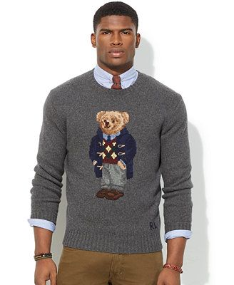 Polo Ralph Lauren Polo Bear Wool Sweater - Love this sweater !