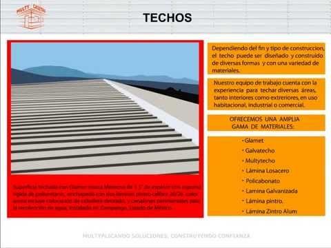 Techos Prefabricados en México | MultyCasetas