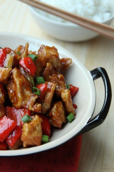 Chicken General Tao -  Poulet du Général Tao Maison Orphée  #recipe #recette