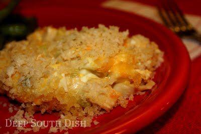Hot Chicken Salad Casserole: Hot Chicken Salads, Casseroles Recipes, South Dishes, Deep South Dish, Salad Casseroles, Basic Elements, Classic Potlucks, Potlucks Dishes, Casseroles Chicken