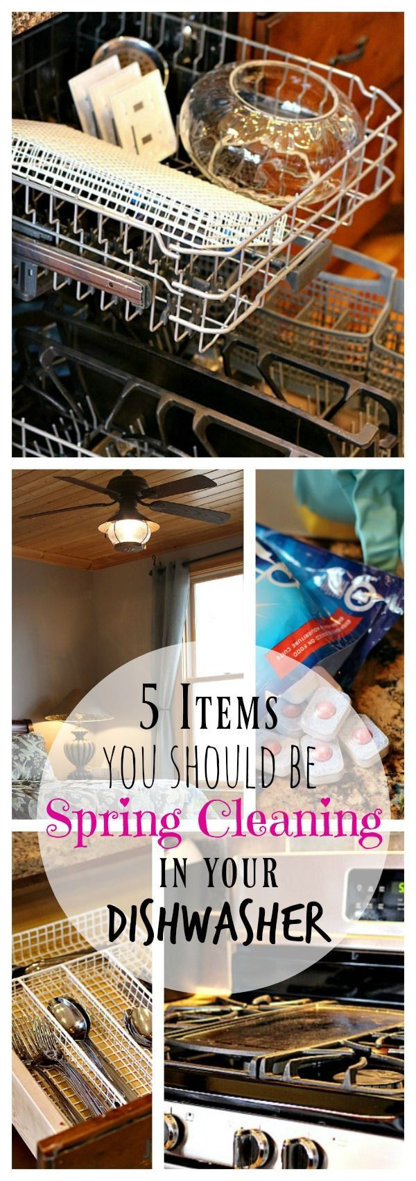 Want to save time on your Spring Clenaing? Try using the dishwasher and Finish products to keep these household items sparkling! #EverydaySaves #ad