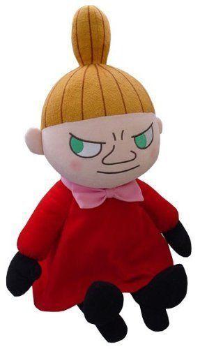 Moomin-Little-My-Plush-Doll-stuffed-toy-sekiguchi-Japan-M-size-smile-Moomins