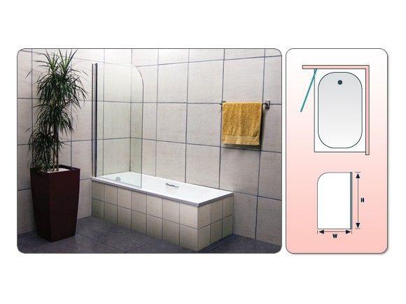 Shower-Bath Screen-F7201   CTM   Bath shower screens, Bath ...