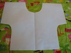 """How to make a tea towel. """"Dress"""" Kitchen Towel - Step 1"""