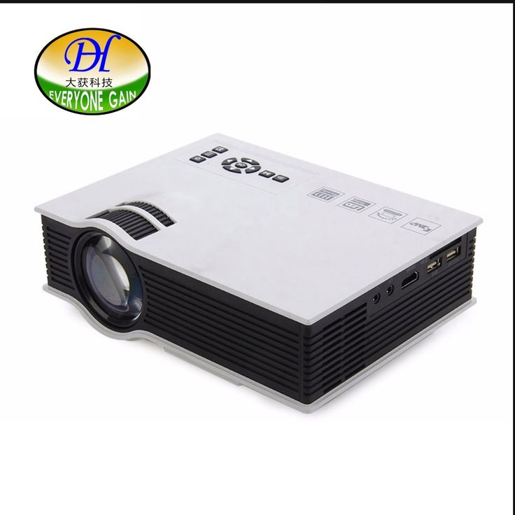 129.58$  Buy here - http://aib8k.worlditems.win/all/product.php?id=32636486297 - Everyone Gain original Mini Pico Portable Projector Home Theater Beamer Multimedia Proyector support 3D Films DH-mini40+