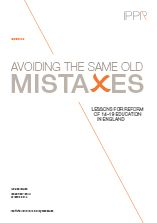 Avoiding the same old mistakes: Lessons for reform of 14–19 education in England. This paper presents case studies of VET systems in Australia and the Netherlands, looking at institutions, school systems, qualifications and vocational options for young people. From these case studies the authors have derived three lessons to guide reforms in England: