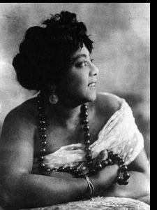 """Mamie Smith...the first to record blues songs. Her record """"Crazy for You"""" sold over a million copies in 1920 and opened the doors of the recording industry to African-Americans."""