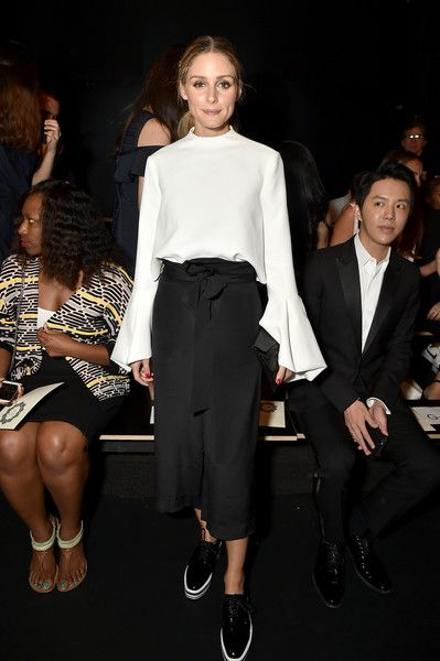 Olivia Palermo attends the Lanyu fashion show during the September 2016 New York…