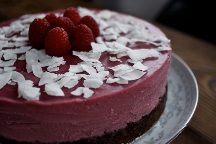 "Coconut-Raspberry ""Cheesecake""   @Autoimmune Paleo"