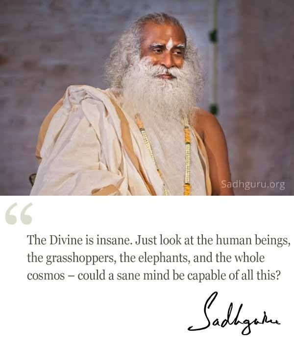 26th Feb quote from Sadhguru
