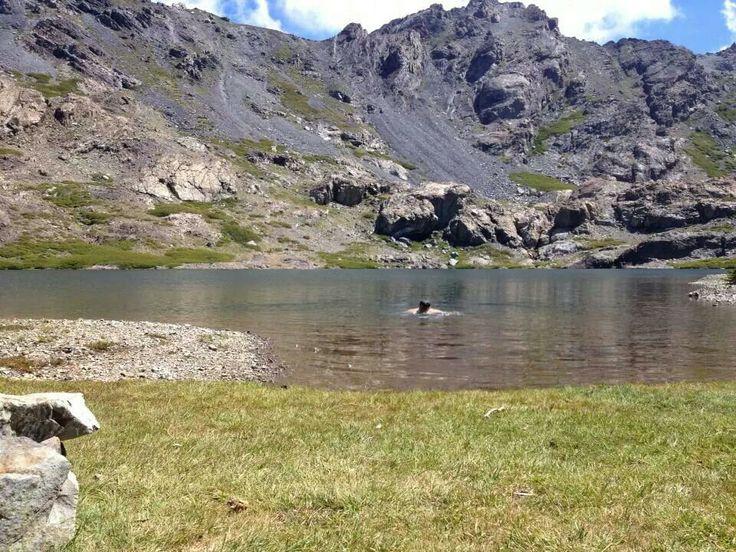 Laguna el Alto, reserva nacional Altos de Lircay, Chile