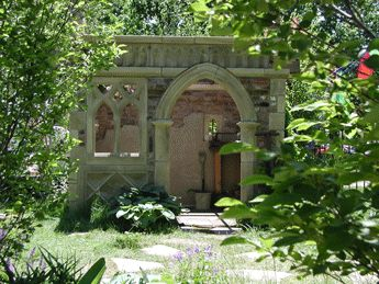 Usually sited in gardens, the english folly is a flight of the imagination that draws on history, myth, illusion, and plain inventiveness just for the fun of it.