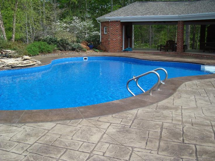 15 best concrete pool decks images on pinterest concrete. Black Bedroom Furniture Sets. Home Design Ideas