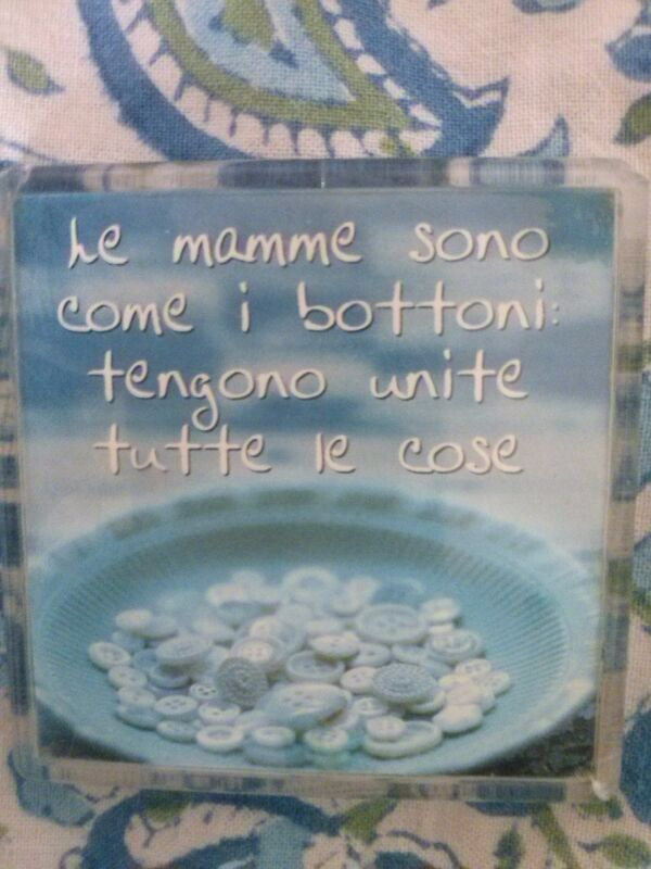 Buona Festa della mamma! ☀️Moms are like buttons they hold things together