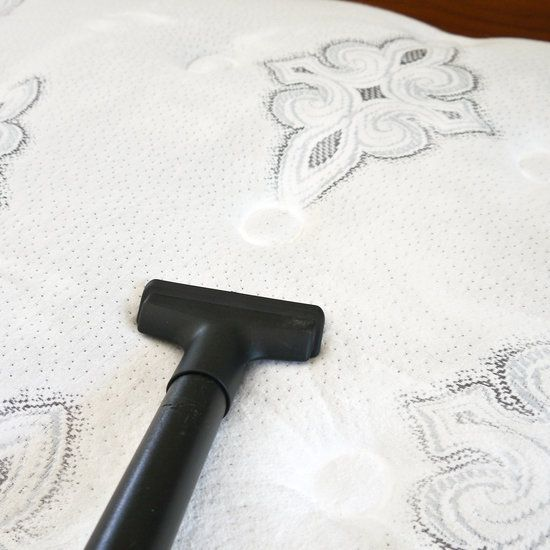 Deep clean your mattress by sprinkling baking soda all over your bed, then vacuuming all of it up after an hour.