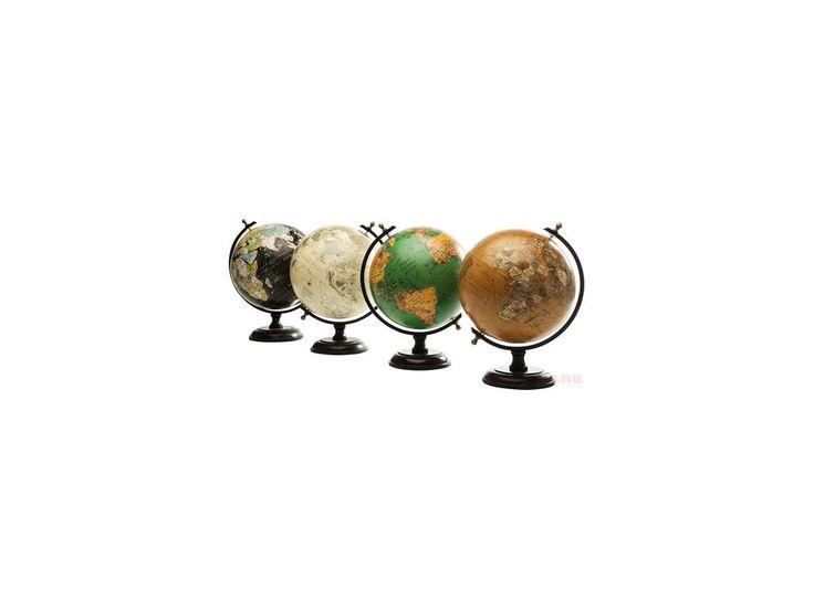 Globus Dekoracyjny Vintage czarny — Figurki dekoracyjne — KARE® Design