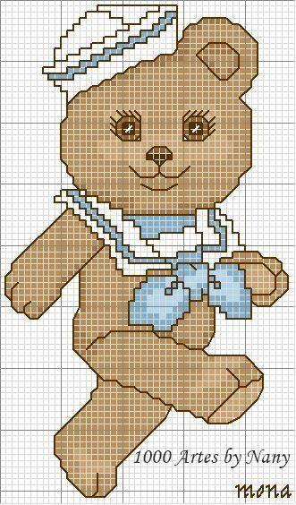 Oltre 25 fantastiche idee su orsetti per bambini su - Schemi animali stampabili ...
