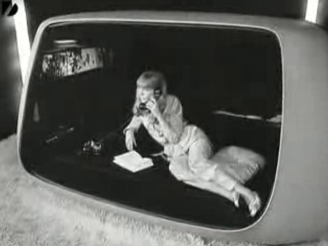 Pod living (TV, phone lounge)