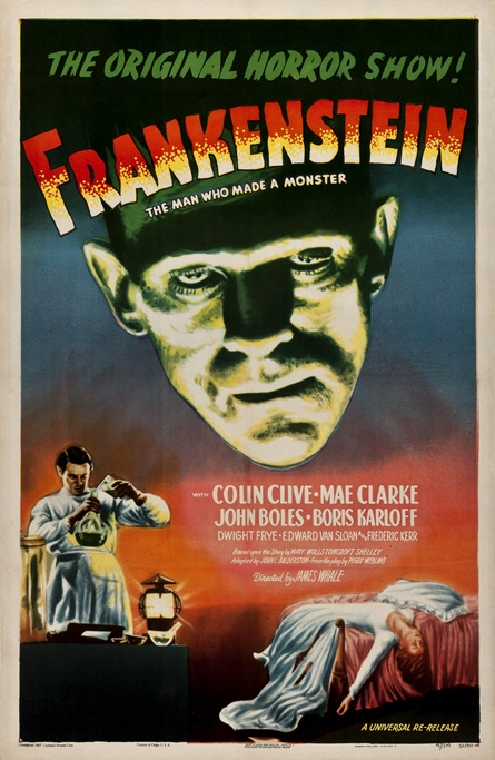 FRANKENSTEIN (1931) plays a very important role in Painted Faces!  http://amzn.to/2tLplUS