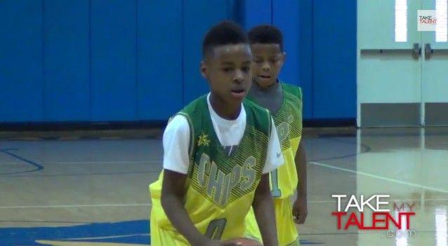 LeBron James Jr.,  age 10 http://thinkprogress.org/sports/2015/03/02/3628383/exploitation-of-the-other-lebron/