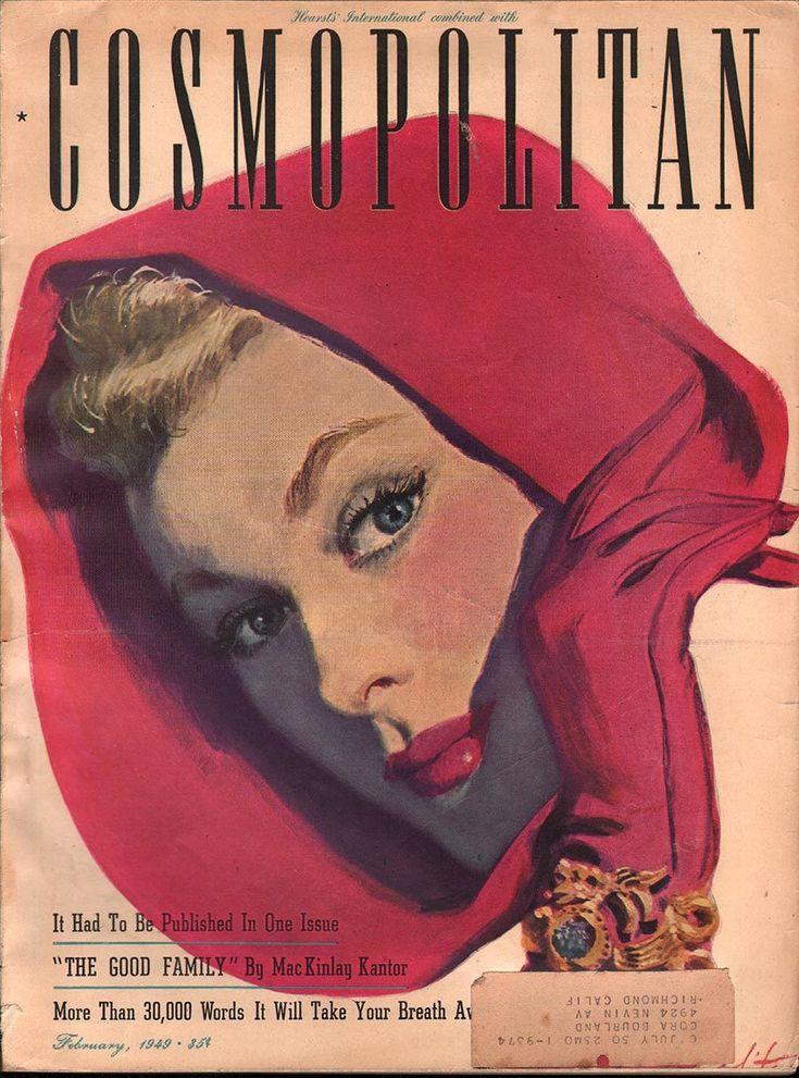 Cosmopolitan February 1949 - Ephemera Forever