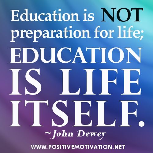 fun pictures of education | Education quotes - Education is not preparation for life; education is