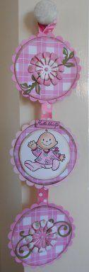Babyhanger - leuk voor aan de babykamer