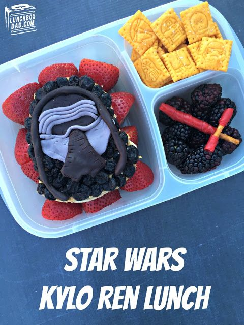 How to make a bento Star Wars Kylo Ren Lunch for your kids!