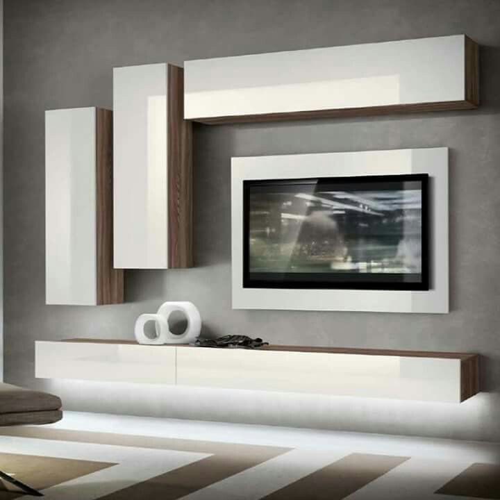 Tv Wall Units Mounted Sets Entertainment Modern Stands Ideas Living Room Furniture Rooms