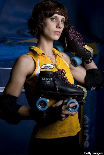 """Bonnie Thunders interview. """"The LeBron James of roller derby."""""""