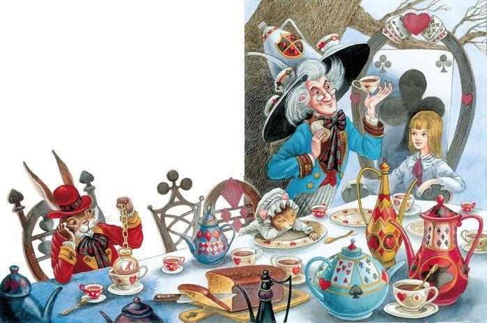 0_f889a_695df6e5_XXL (700x464, 364Kb) Иллюстратор Максим Митрофанов -«Алиса в стране чудес»