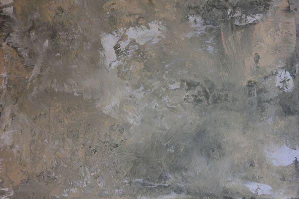Multi-colored Venetian plaster finish