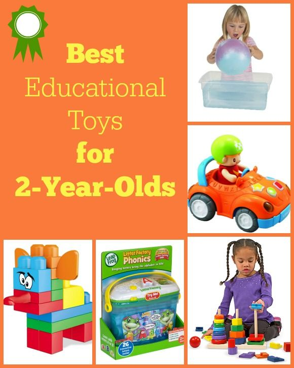 At 2 years old, children are not only learning more about the world around them, but are also developing their language, cognitive, coordination, and fine motor skills. There are so many educational toys for toddlers to choose from that it can be difficult to determine which toys are both fun and educational.